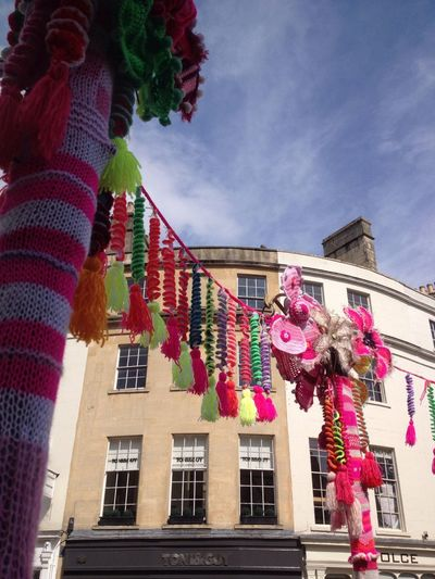 City Of Bath Knitting Colours Street Crochet Streetart Streetphotography Textured  Heritage Showcase April