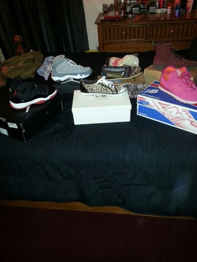 I grabbed the first 6 pair.of shoes I seen now which ones shall be kotd??
