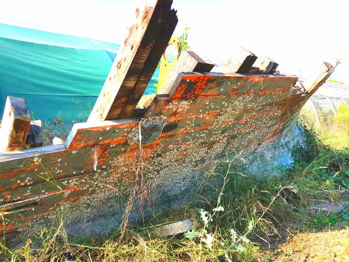 Old Boat Old Fishing Boat Water Sea Nautical Vessel Sky Architecture Built Structure Boat Fishing Equipment Sailing Boat