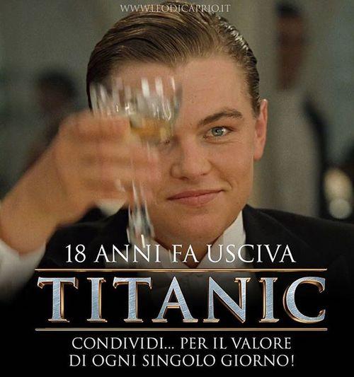 Al valore di ogni singolo giorno... 1️⃣8️⃣ Titanic TitanicMovie Leonardodicaprio  Jackdawson katewinslet rosedewittbukater youngleonardodicaprio rose dicaprio leodicaprio jackandrose rosedawson