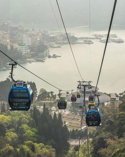 Cable Car Taiwan Rope Way View Sun Moon Lake