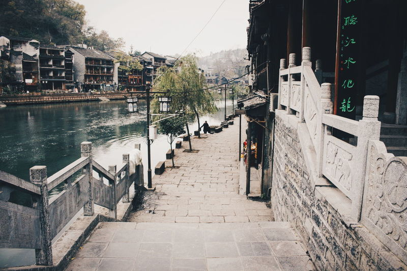 Beauty Of China Historical Building Architecture Building Built Structure China Direction Footpath Heritage Heritage Building Heritage Site Historical Nature Outdoors Plant The Way Forward Water