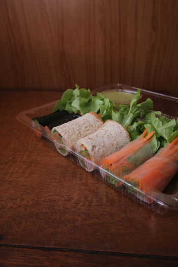 Salad Roll Food