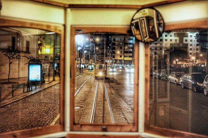Illuminated Transportation Rail Transportation Public Transportation Indoors  Train - Vehicle No People Day