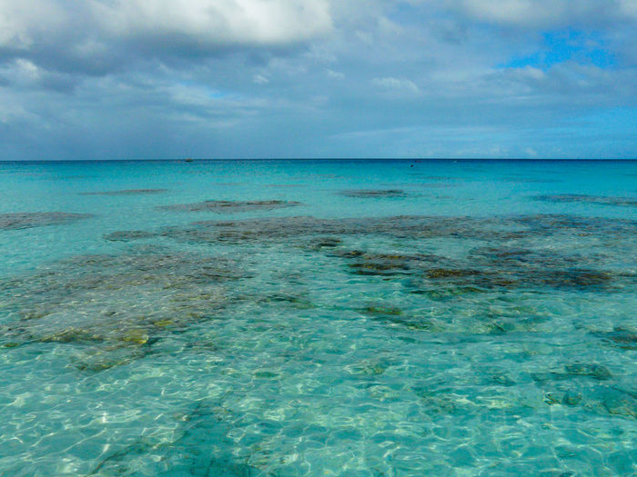 Polynesia Beauty In Nature Blue Cloud - Sky Day Fakarava Horizon Over Water Idyllic Nature No People Outdoors Scenics Sea Sky Tranquil Scene Tranquility Water Waterfront Lost In The Landscape EyeEmNewHere