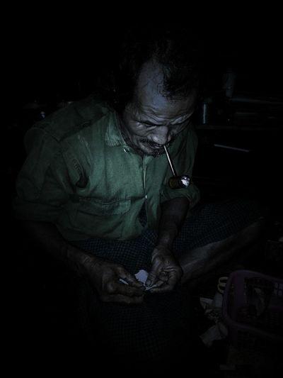 #SmokingPaperPlanes Dark Good Life! Lifestyles Old Man