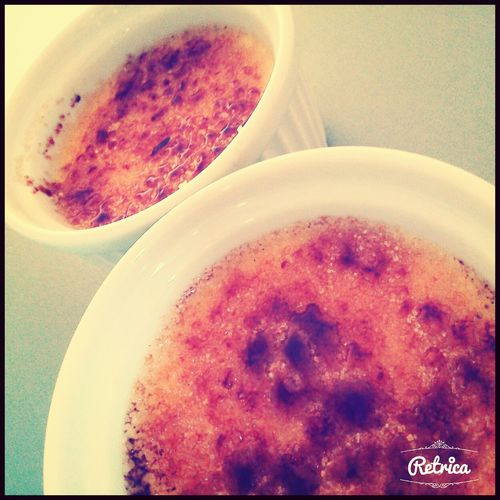 Creme Brulee! Home Made Yummy♡ The Best ❤ :3333