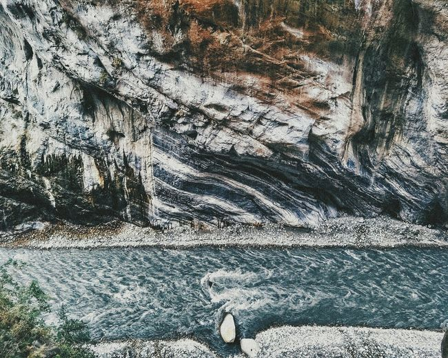 Lost In The Landscape Stream Gorge Canyon Nature Altitude Mountains Cliffs Hiking Trail River Valley Outdoors Textured  Pattern Liveauthentic Bucketlist Aerial Formations Adventure Lifestyle Close-up Taiwan Hualien HikeNhype EyeEmNewHere Connected By Travel Perspectives On Nature