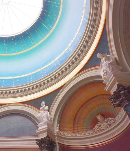 Architecture Built Structure Indoors  Sculpture Dome Low Angle View Berlin Museum EyeEm Gallery Art And Craft