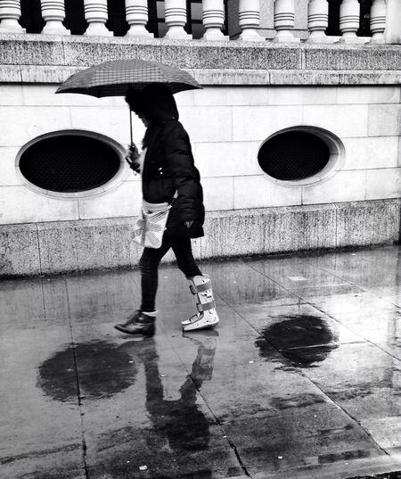 Streetphotography Rain Blackandwhite Other People's Shoes