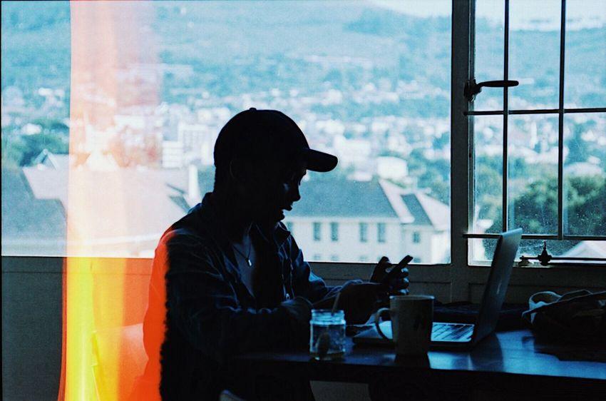 Light leak on film 🔥 Window Sitting Indoors  One Person EyeEm Selects Neweyeemhere NewEyeEmPhotographer Film Analogue Photography Filmisnotdead EyeEm Best Shots 35mm Film Kodak Portra EyeEm Selects EyeEmNewHere Film Photography