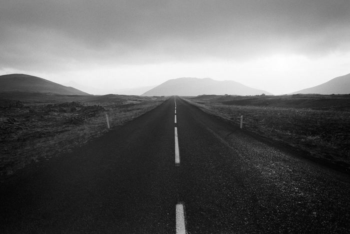 { Film } Iceland / Fuji GSW690II, Kodak Tri-X