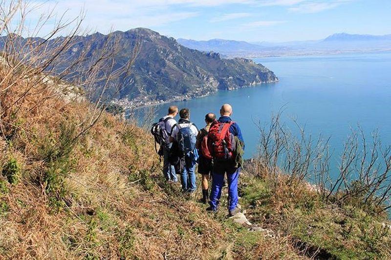 Montagna Mountain Trekking Male Italy Montemolignano Costieraamalfitana Mare Sea Deti Tirreno Landscape