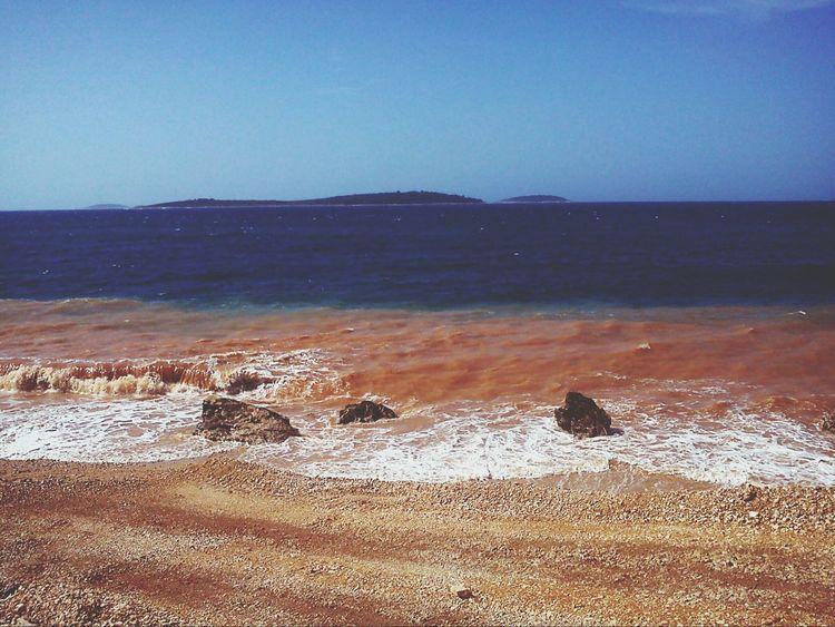 Mediterranean sea Sea Relaxing Croatia Primošten