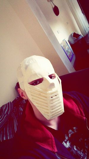 This is an example of what 12 hours of boredom does to a human. I have the main shell complete, just need decoration.Taking Photos Check This Out That's Me Thoughts?  Bored Mask Selfie ✌