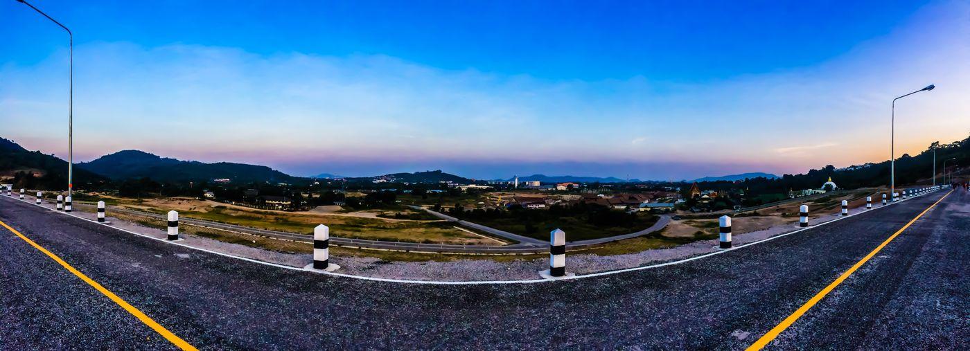 #เขื่อนหลวงปู่ เขื่อนหลวงปู่สุภา Road Road Marking The Way Forward Transportation Sky Outdoors Mountain
