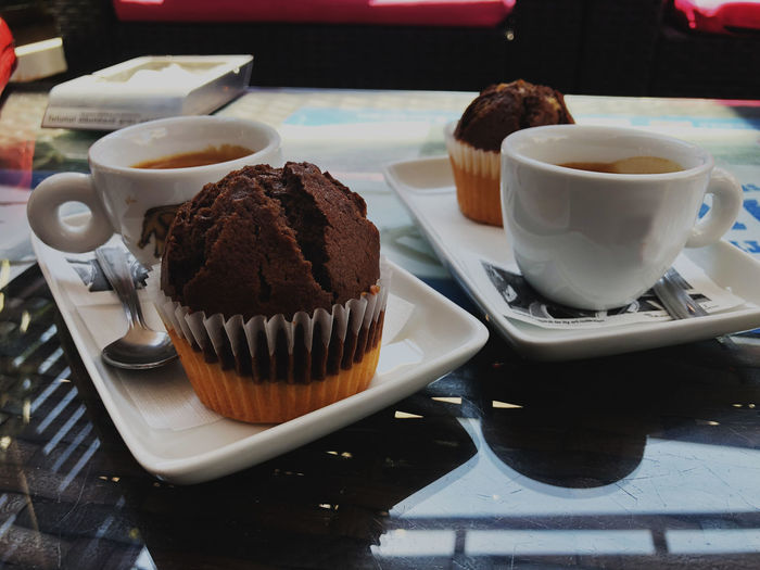 mmm... Baked Cake Coffee Crockery Cup Dessert Food Food And Drink Freshness Indulgence Muffin Ready-to-eat Still Life Sweet Sweet Food Temptation A New Beginning The Foodie - 2019 EyeEm Awards