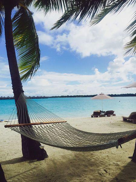 Paradise by the hammock Paradise Beach Hammock Honeymoon Bora Bora