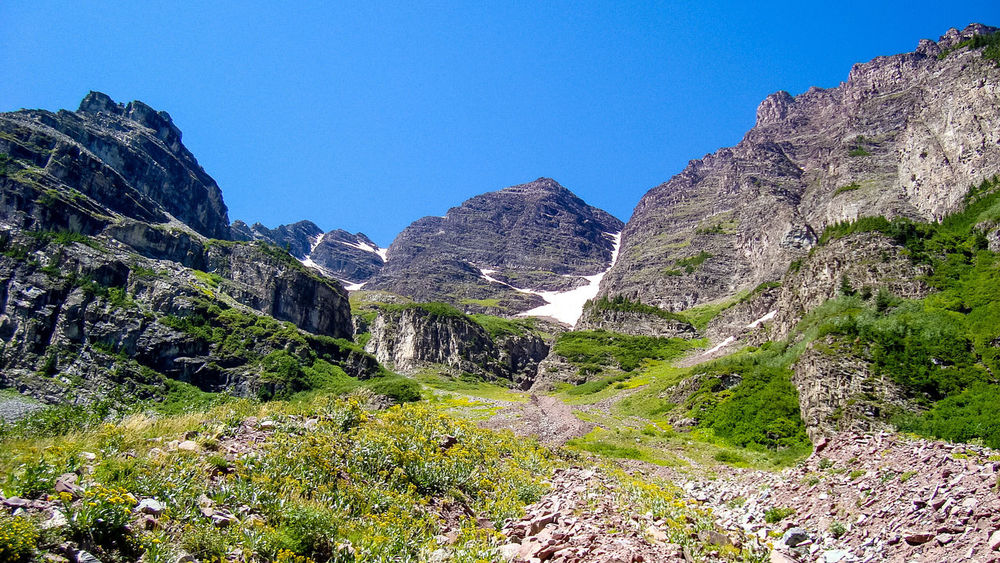 The Great Outdoors With Adobe Maroonbells