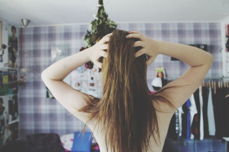 Long hair, dont care