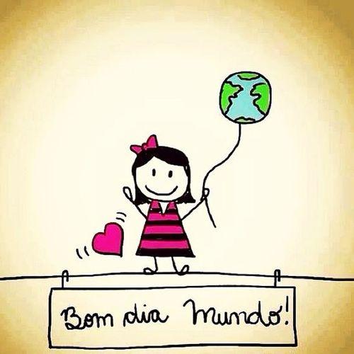 BomDiaMundo BomDiaVida Bomdiasol BomDiaPraVocêTambém ????☀️