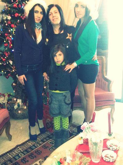 Christmastime Christmastree Khalto, Nour & My Sister ♡