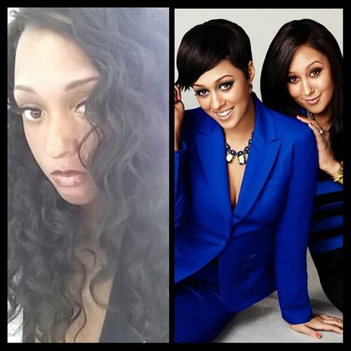 So all day yesterday, when I was working, I got people saying, I look just like the beautiful twins @tiahardrict Tia and Temara Mowry.. I am flattered but I honestly don't see it..... Tiamowry Temaramowry Twins Beautiful