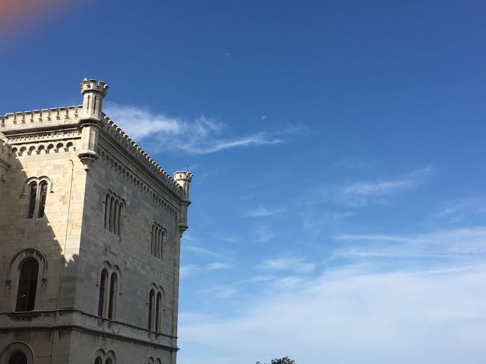 Sky Built Structure Architecture Low Angle View Building Exterior Cloud - Sky History