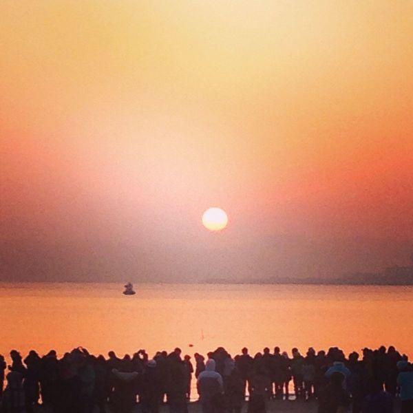 Adieu2013 Happynewyear2014 Sunrise Sunshine