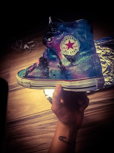 Galactic Space converse step by step Converse Art