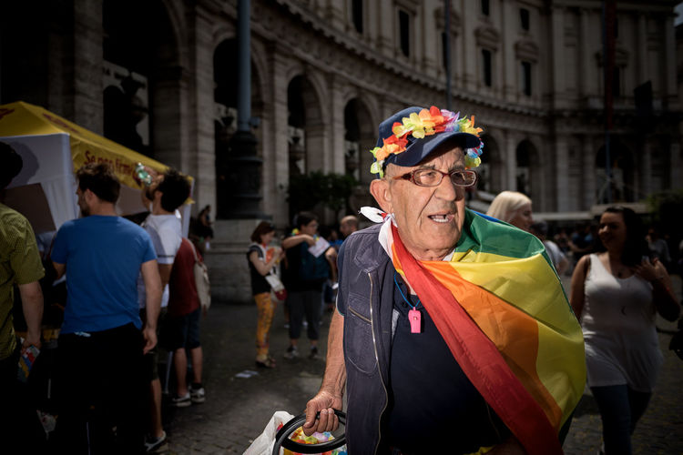 PRIDE The Portraitist - 2019 EyeEm Awards The Street Photographer - 2019 EyeEm Awards My Best Photo Prideparade Gay Portrait Of A Man  Portrait Photography Portrait Spot Light  Urban Living Urbanphotography Urban Street Life Street Light Rainbow Colors Photojournalism Photography Flash LGBT Rainbows Lgbt Pride Lgbt Pride Parade Pride Roma Gay Pride Street Photography Streetphotography Crowd Flag Clothing Leisure Activity Built Structure City Lifestyles Adult Building Exterior Focus On Foreground Street Men Day People Incidental People Architecture Real People