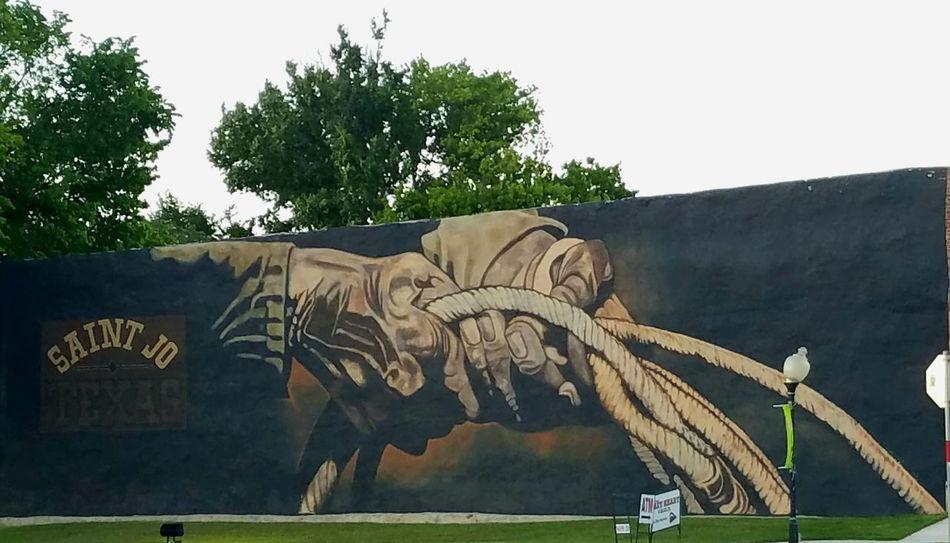 Tree No People Mural Art Western