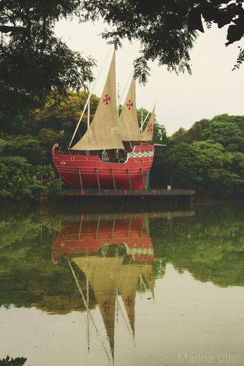 Portugal Taquaral Granulado Tree Water Sky Boat
