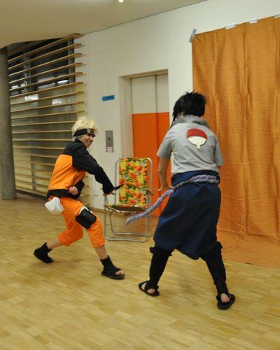 Cosplay<3 Naruto Naruto Shippuden  Naruto Uzumaki Sasuke Sasuke Uchiha Fight Cosplay Shoot Cosplayer Cosplay Naruto Sasuke me like naruto
