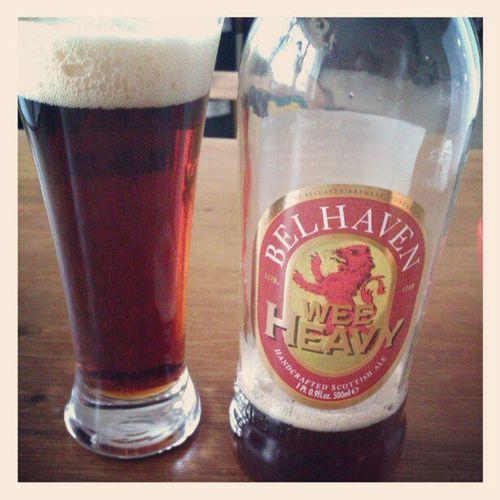Very Nice scottish beer.... Weeheavy Beer