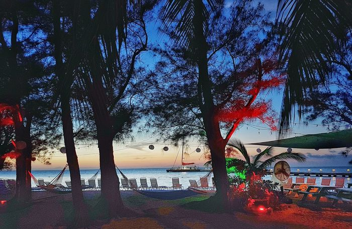 Rumpoint Sunset Cayman Islands