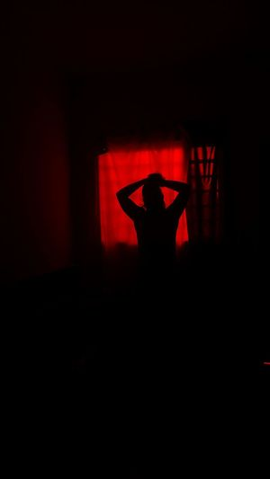 The devil's going to make me a free man Red Music One Person Human Body Part EyeEmNewHere Adult Excitement Homem Corpo Nu Nude-Art Nu Artistique