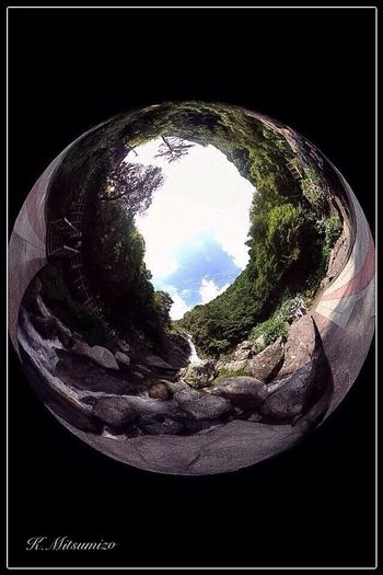 佐賀県唐津市相知町 見返り滝 Photosynth Theta Tadaa Community IPhoneography Nature Photography Landscape Enjoying Life 佐賀 Saga 唐津 Karatsu 滝 Waterfall 見返りの滝