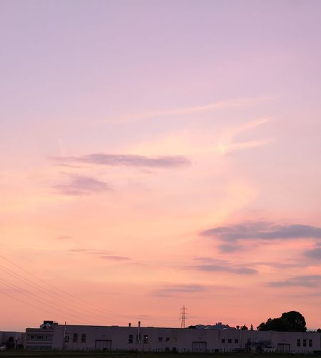 Urban Skyline Sunset Cityscape Astronomy Awe Dusk Business Finance And Industry Dramatic Sky Social Issues Romantic Sky