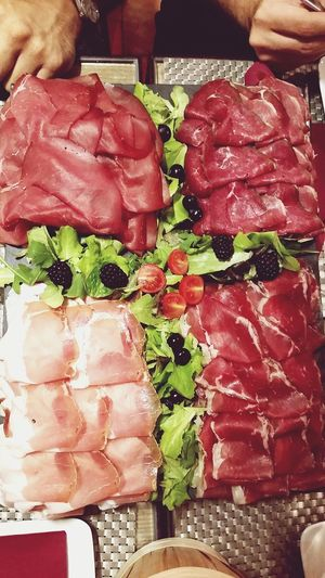 Caprini Relaxing Food Meat! Meat! Meat! Verona Italy Italians Good Service Mr