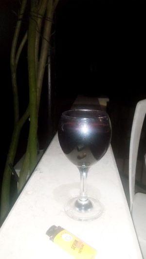 Balkonda şarap Keyfî