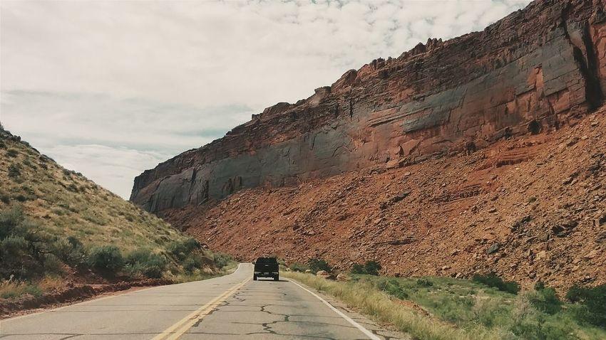 Highway. Vscocam Rocky Mountains Roadtrip Utah