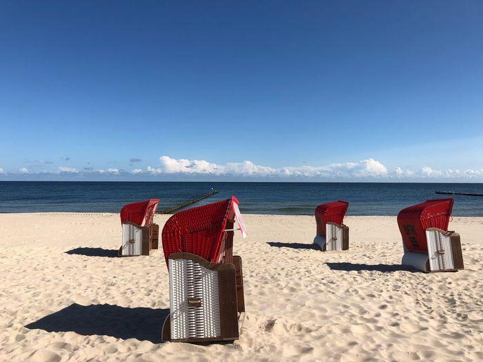 Leerer Strand