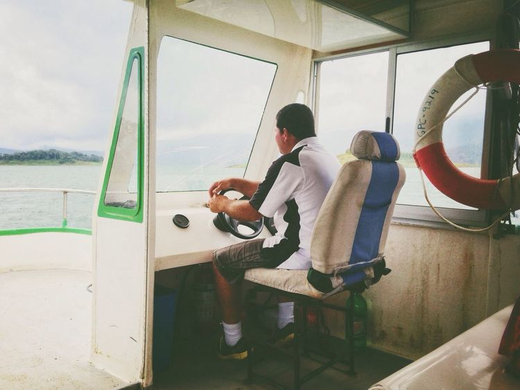 On the way to Volcán Arenal Going On A Boat Ride Work The Press - Work Boat