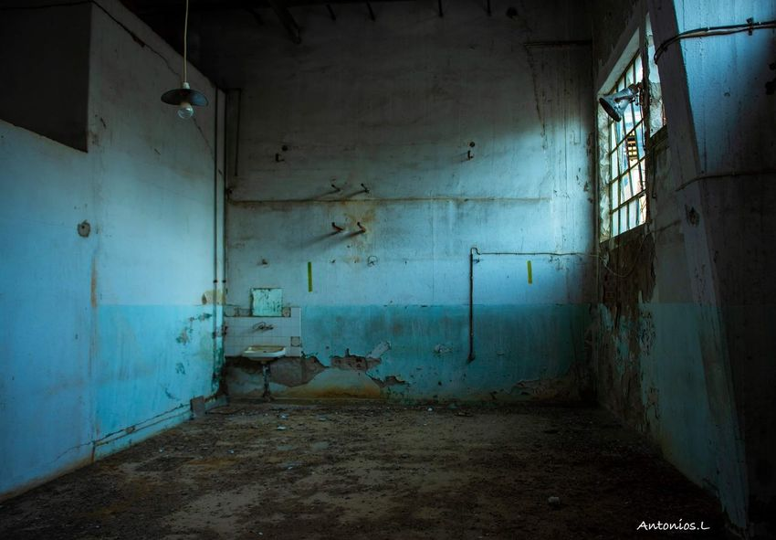 Vintage Factory Old Rotting Domestic Room Destruction Old Ruin Home Interior Business Finance And Industry Abandoned Shadow Window Dirty