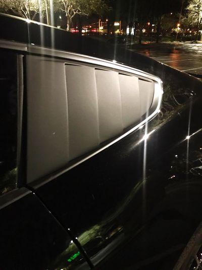 Illuminated Transportation Night Land Vehicle No People Quarter Panel Window Covers Cervinnis Retro Styled Auto