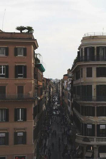 Italy Roma Via Condotti Beautiful Place