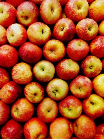 Simplesmente maçãs. Apple Apple - Fruit Apples Supermarket Backgrounds Fruit Market Full Frame Red Retail  Close-up For Sale