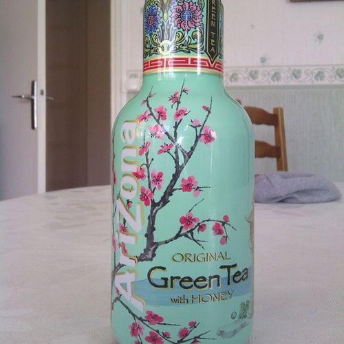 Si vous tombez sur cette boisson, c'est la boisson de votre vie. *-* *-* *-* Greentea Honey BeingNatural