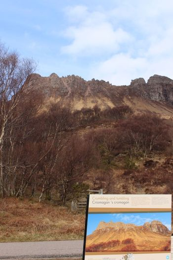 Stac Pollidah, Western Scotland Scottish Highlands Mountain Tree Sky Nature No People Day Plant Mountain Range Tranquility Environment